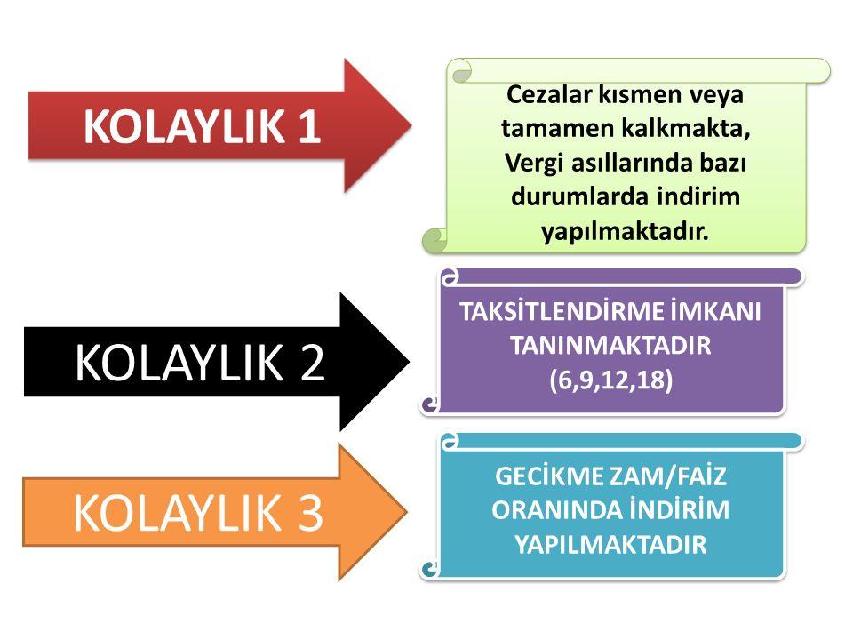 Taksit Tutarının %10'unu Aşmamak Şartıyla 5 Türk Lirasına (Bu Tutar Dâhil) Kadar Yapılmış Eksik Ödemeler Kanun kapsamında ödenecek taksitler ile taksit ödeme süresince beyan üzerine tahakkuk eden ve Kanunun 3 üncü maddesinin dokuzuncu fıkrasında belirtilen vergilerin (her bir vergi türü itibarıyla) vadesinde yapılan ödemelerinde Taksit Tutarının %10'unu Aşmamak Şartıyla 5,00 TL'ye kadar eksik ödemeler ihlal sebebi sayılmayacaktır.
