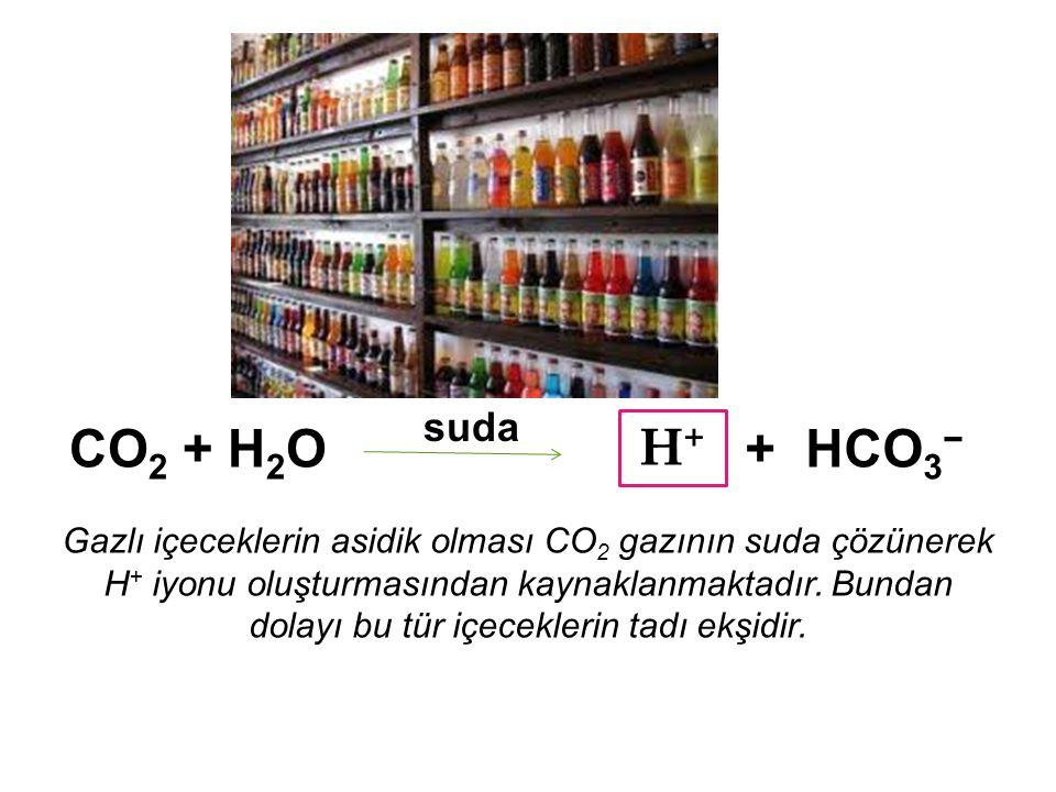 HCl (Hidroklorik asit) suda + Cl − H + NaOH (Sodyum hidroksit) suda OH − Na + + HNO 3 (Nitrik asit) suda + (NO 3 ) − H + KOH (Potasyum hidroksit) suda