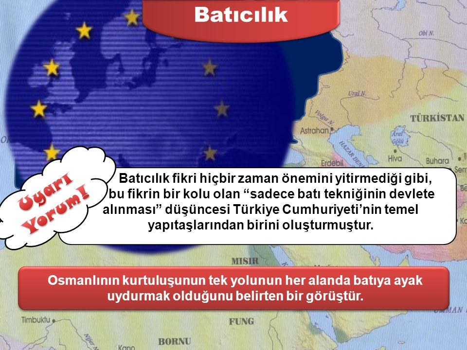 Türkçülük Bütün Türkleri tek bir devlet ve bayrak altında toplamak isteyen düşünce akımıdır. Türkçülük fikri, Osmanlı'nın I.Dünya Savaşı'nda yenilmesi