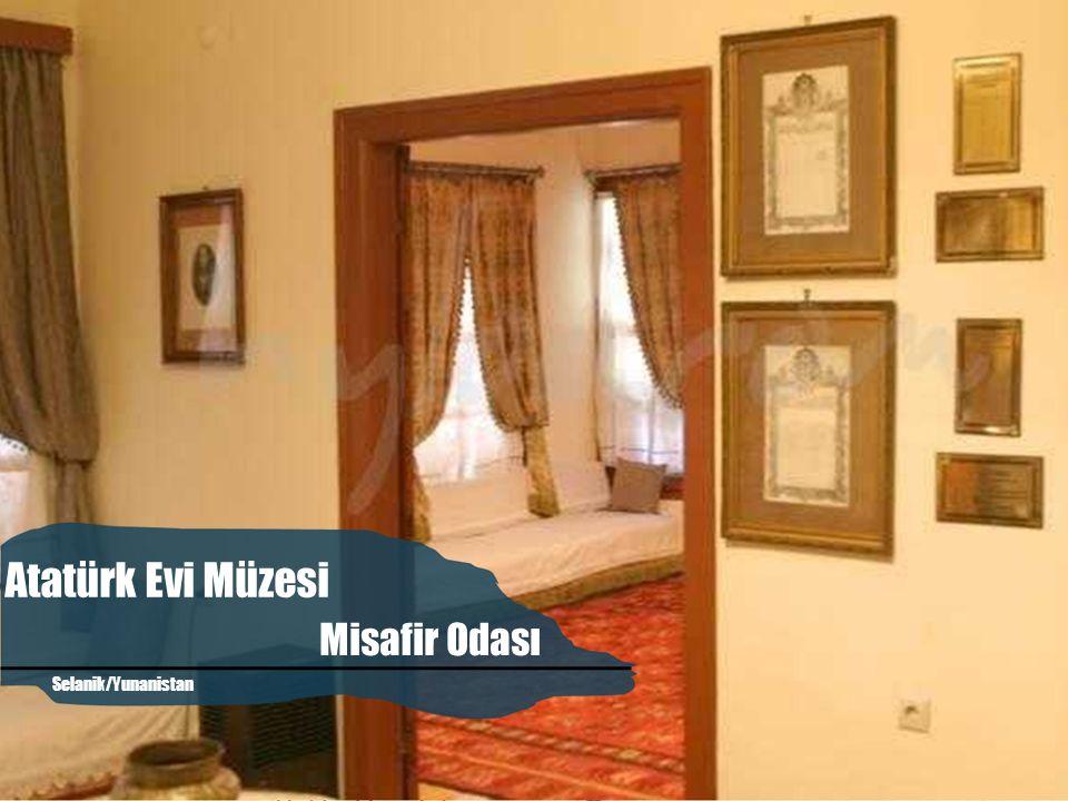 Seyit Ahmet Mırık Atatürk'ün Evi Mutfak Atatürk Evi Müzesi Selanik/Yunanistan