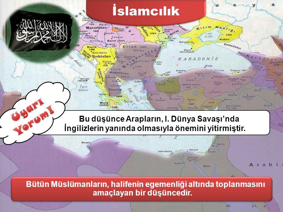 Osmanlıcılık Ülkede yaşayan herkesin din farkı gözetilmeden eşit tutulması halinde devletin dağılmaktan kurtulacağını savunuyorlardı. Osmanlıcılık düş