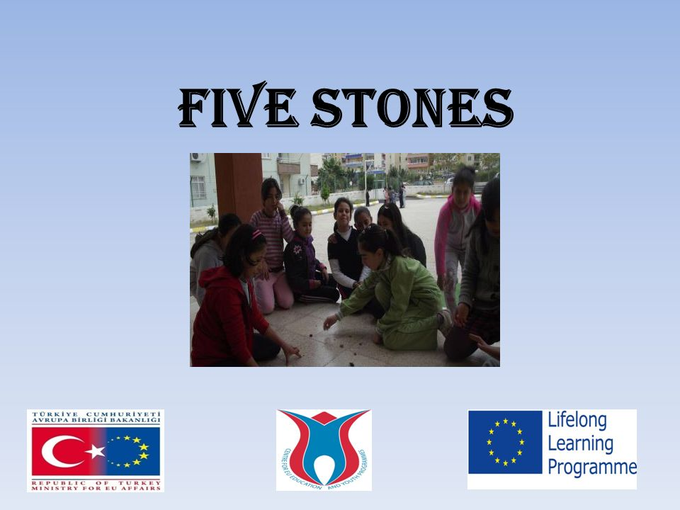 The game is played with five stones.