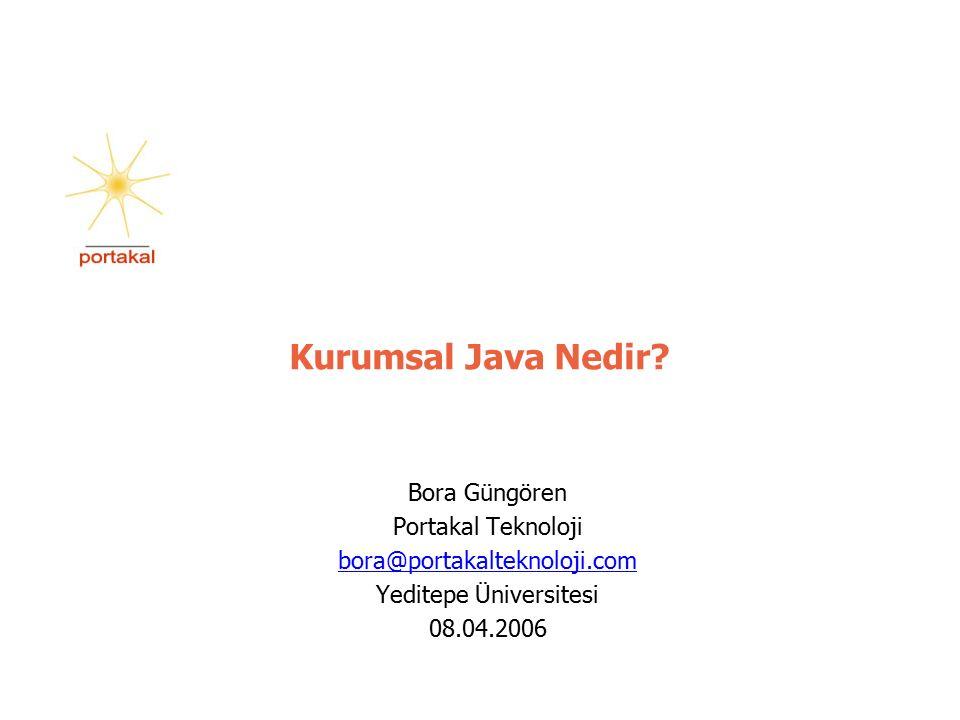 Kurumsal Java Nedir.