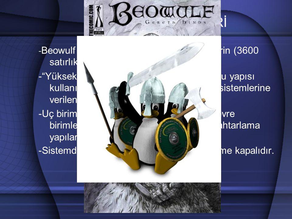 BEOWULF KÜMELERİ SUNUCU bw01 bw02 bw64 INTERNET