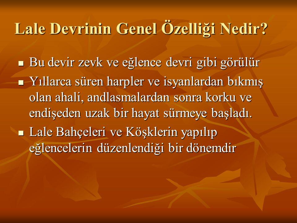 Osmanlı kültür, sanat ve ilim âleminde kıymetli şahsiyetler yetişti.