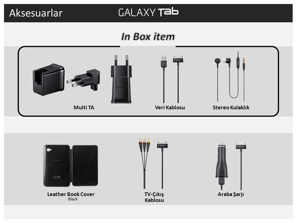 Araba Şarjı Veri Kablosu TV-Çıkış Kablosu Stereo Kulaklık Multi TA Aksesuarlar Leather Book Cover Black