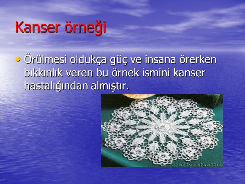 KANSER TEDAVİSİ: