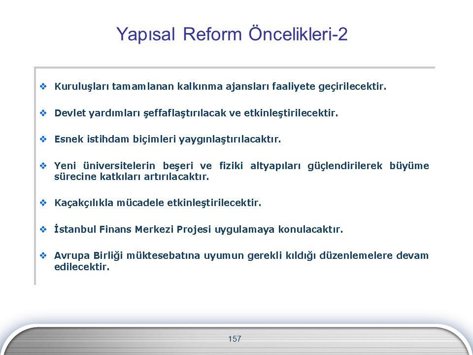 Yapısal Reform Öncelikleri-2 157