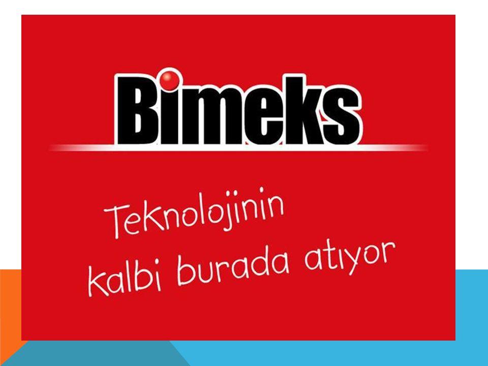 Tarihçesi; 1990 yılında Akgiray Ailesi tarafından kurulan Bimeks, 2007 ve 2008 yıllarında CNBC–E Business, Interpro Bilişim 500 tarafından Türkiye'nin en hızlı büyüyen şirketi olarak değerlendirilmiştir.
