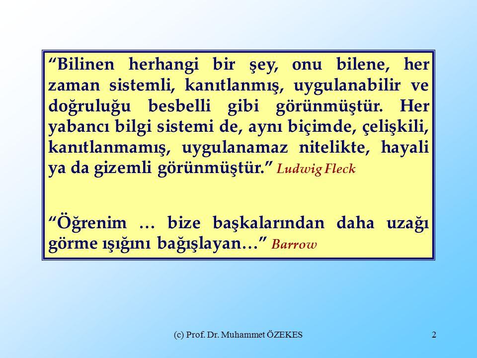 (c) Prof. Dr.