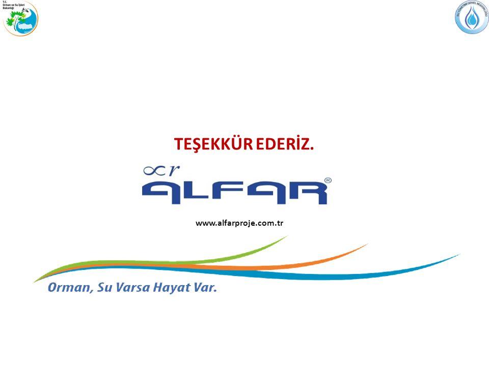 TEŞEKKÜR EDERİZ. www.alfarproje.com.tr