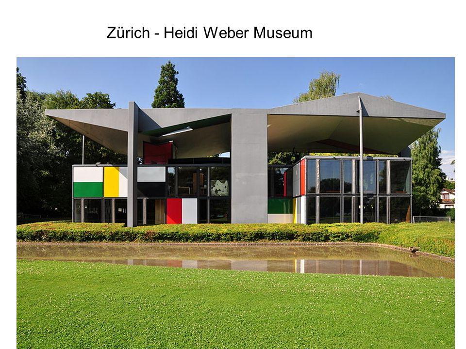 Zürich - Heidi Weber Museum