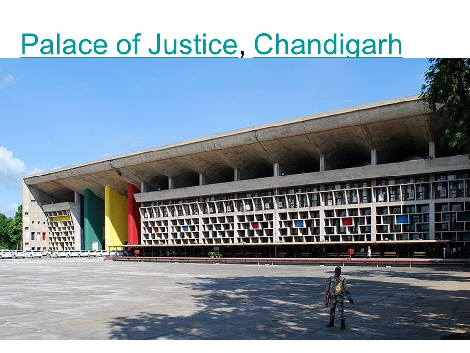 Palace of JusticePalace of Justice, ChandigarhChandigarh