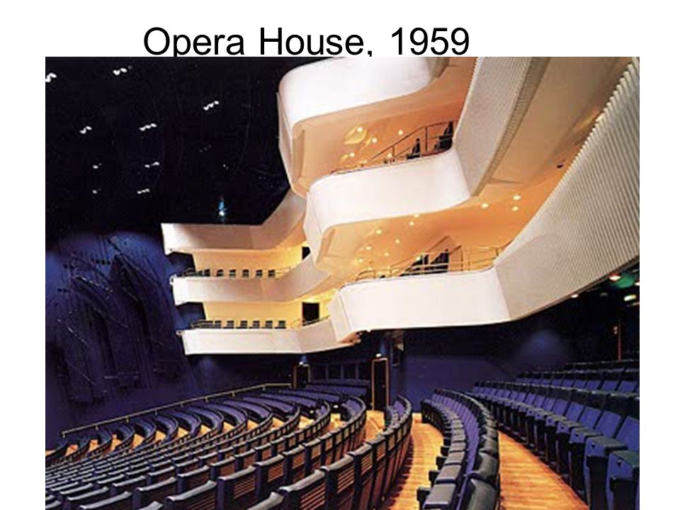 Opera House, 1959