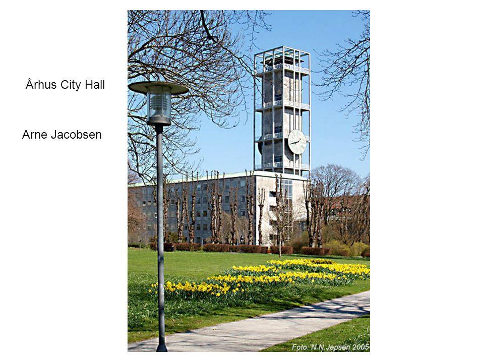 Århus City Hall Arne Jacobsen