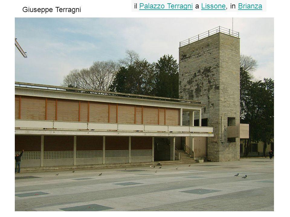Giuseppe Terragni il Palazzo Terragni a Lissone, in BrianzaPalazzo TerragniLissoneBrianza