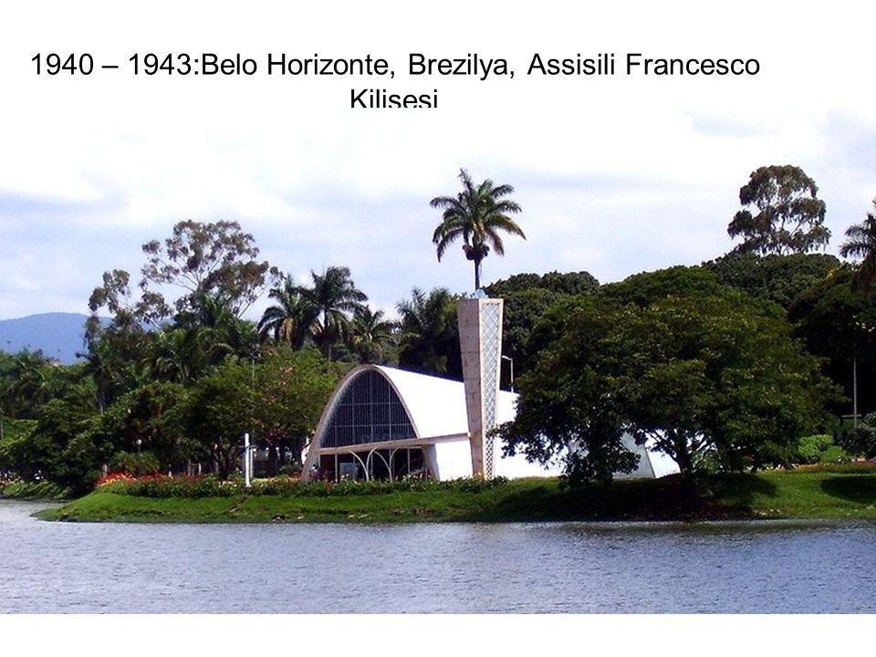 1940 – 1943:Belo Horizonte, Brezilya, Assisili Francesco Kilisesi