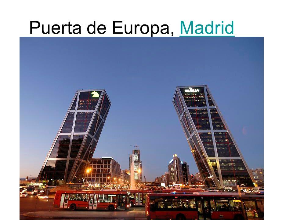 Puerta de Europa, MadridMadrid