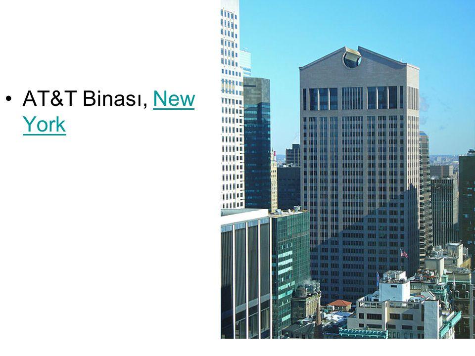 AT&T Binası, New YorkNew York