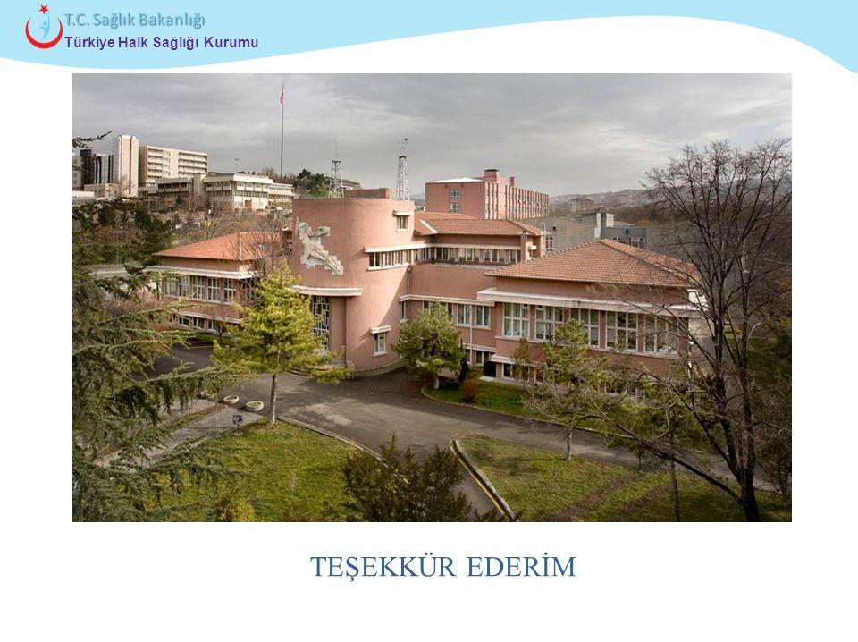Çocuk ve Ergen Sağlığı Daire Başkanlığı Türkiye Halk Sağlığı Kurumu T.C. Sağlık Bakanlığı TEŞEKKÜR EDERİM