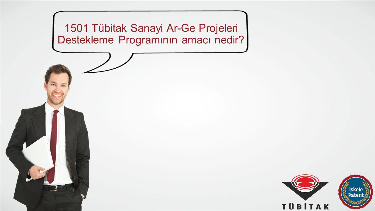 1501 TÜBİTAK Sanayi Ar-Ge Projeleri Destekleme Programı