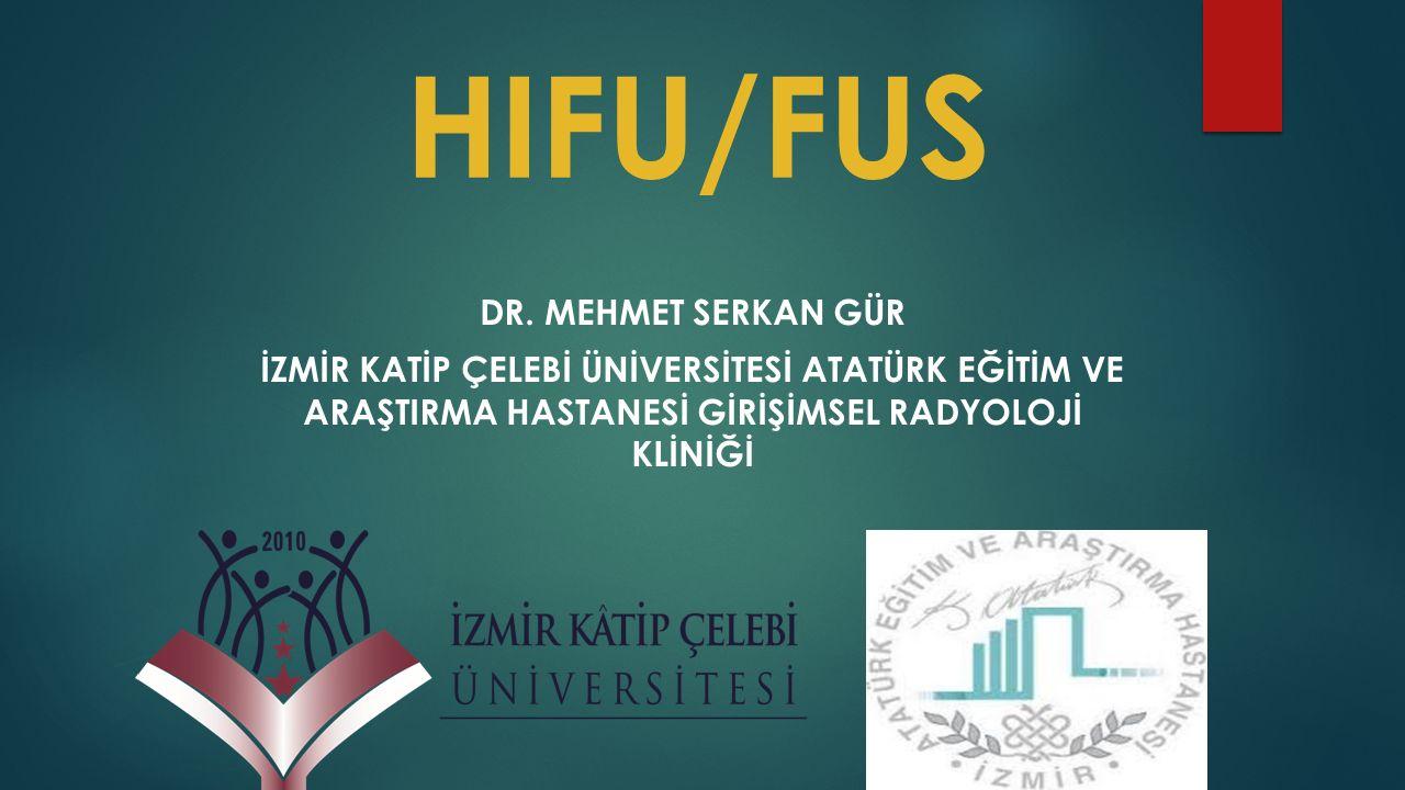 HIFU/FUS DR.