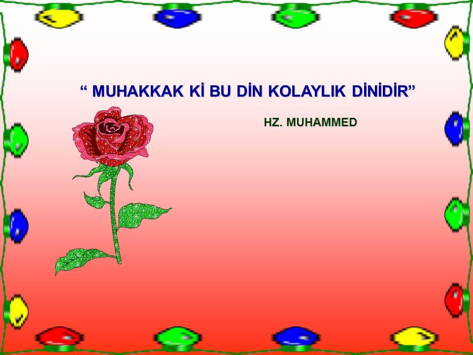 Teyemmüm vesilesiyle islamın müslümanlara zorlayıcı sıkıntılar sunmaması, kişiyi dinin câzibe alanında tutar.