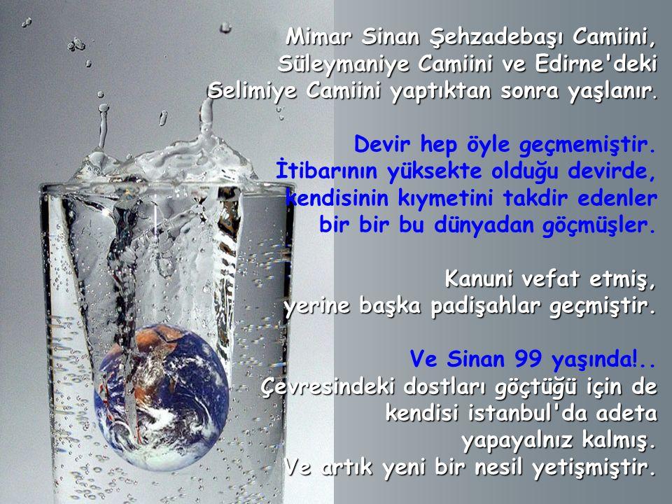 Su böylesine pahalıya geldiği ve kıymet kazanmaya başladığı için Kanuni bir ferman çıkarır, der ki: İstanbul meydanlarındaki umumi çeşmeler halkın malıdır.