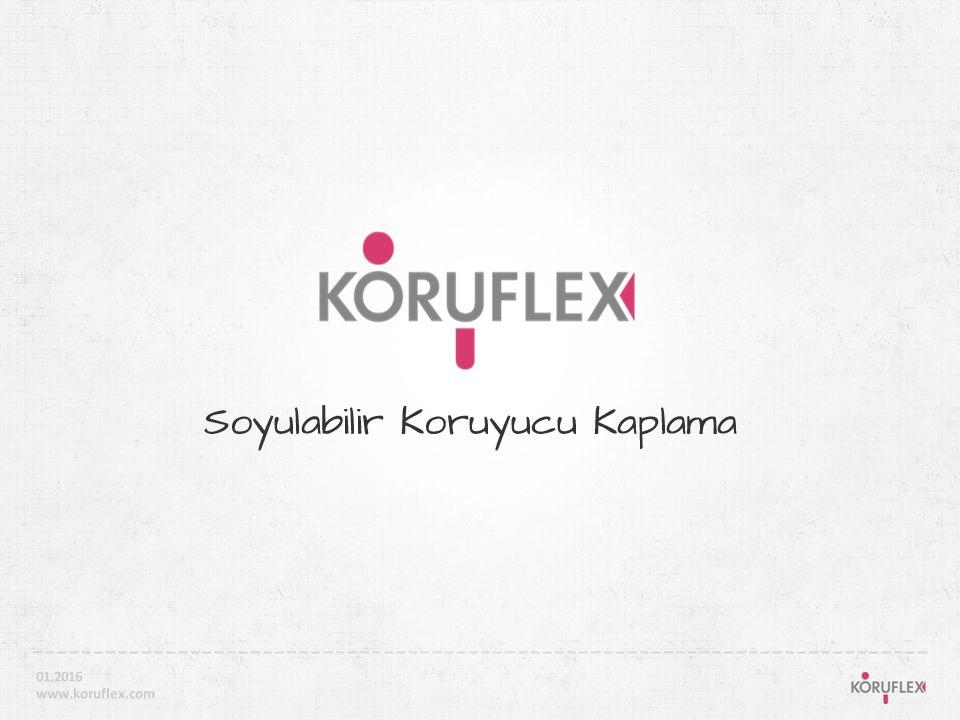 01' ÜRÜN - KORUFLEX (sf.02-07) 02' UYGULAMA (sf. 08-09) 03' REFERANSLAR (sf.