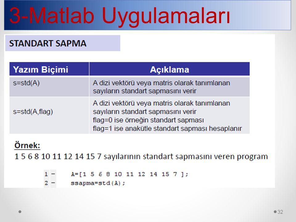 3-Matlab Uygulamaları 32