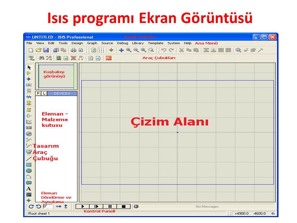 Isıs programı Ekran Görüntüsü