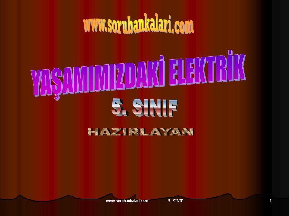 www.sorubankalari.com 5. SINIF 1