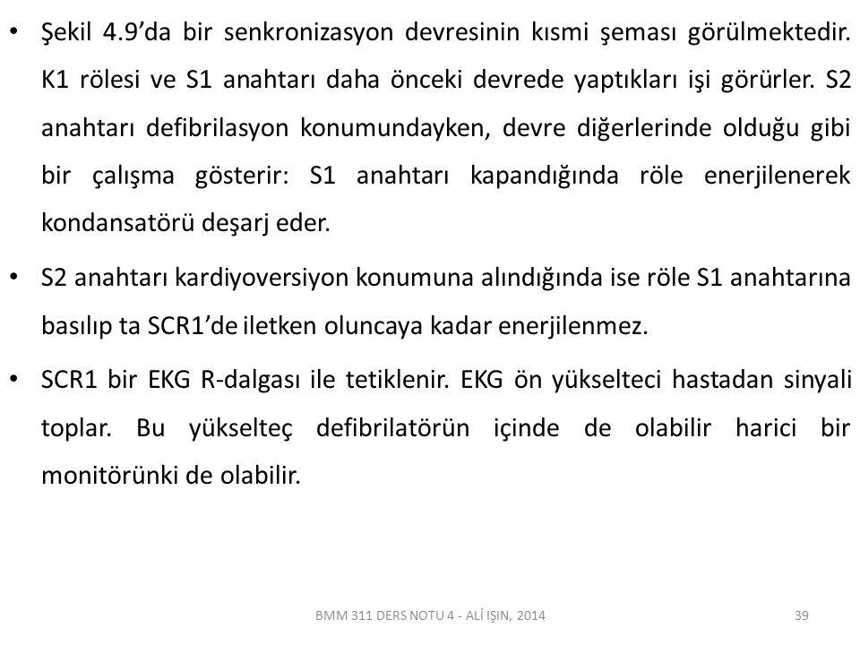 BMM 311 DERS NOTU 4 - ALİ IŞIN, 2014 Şekil 4.9'da bir senkronizasyon devresinin kısmi şeması görülmektedir.