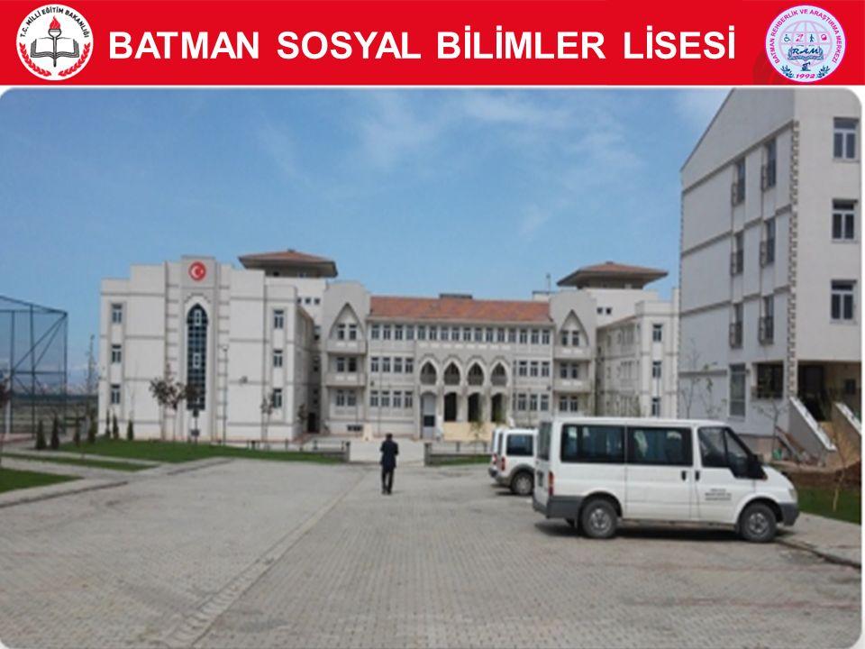 BATMAN SOSYAL BİLİMLER LİSESİ 2