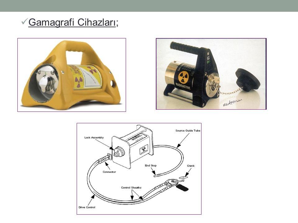 Gamagrafi Cihazları;