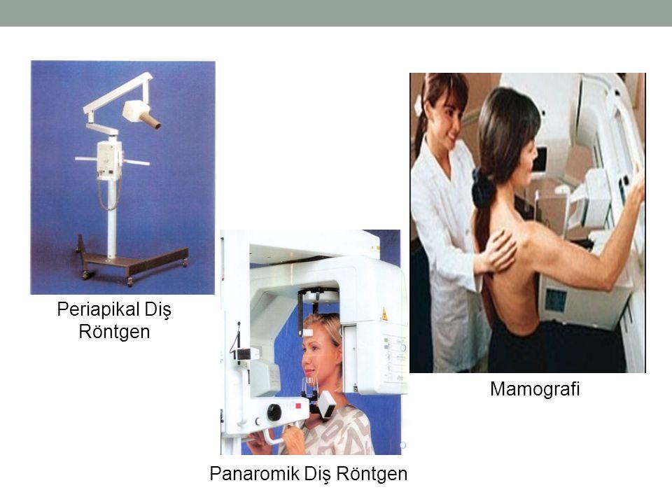 Periapikal Diş Röntgen Panaromik Diş Röntgen Mamografi