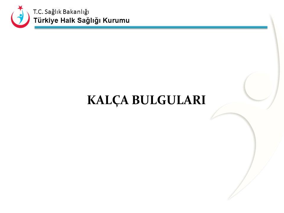 T.C. Sağlık Bakanlığı Türkiye Halk Sağlığı Kurumu Ayak deformiteleri ; Pesekinovarus Pes planovalgus Peskalkaneovalgus