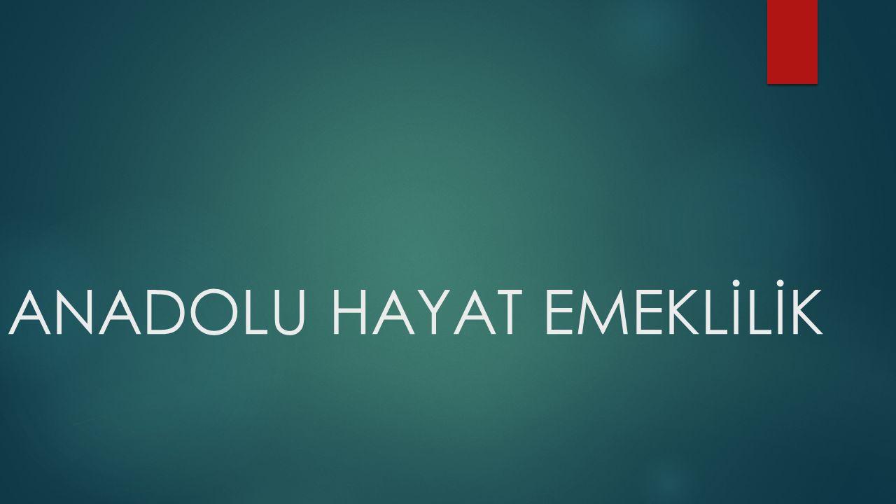 Tarihçesi  1990 yılında Anadolu hayat sigorta A.Ş Anadolu anonim Türk sigorta şirketi tarafından yürütülmekte olan hayat sigortacılığı faaliyetini devir alarak ülkemizin İLK HAYAT SİGORTA ŞİRKETİ olarak kurulmuştur.