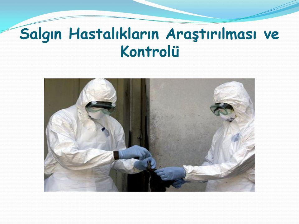 Salgın Hastalıkların Araştırılması ve Kontrolü
