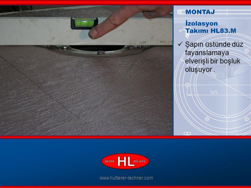 www.hutterer-lechner.com Şapın üstünde düz fayanslamaya elverişli bir boşluk oluşuyor.