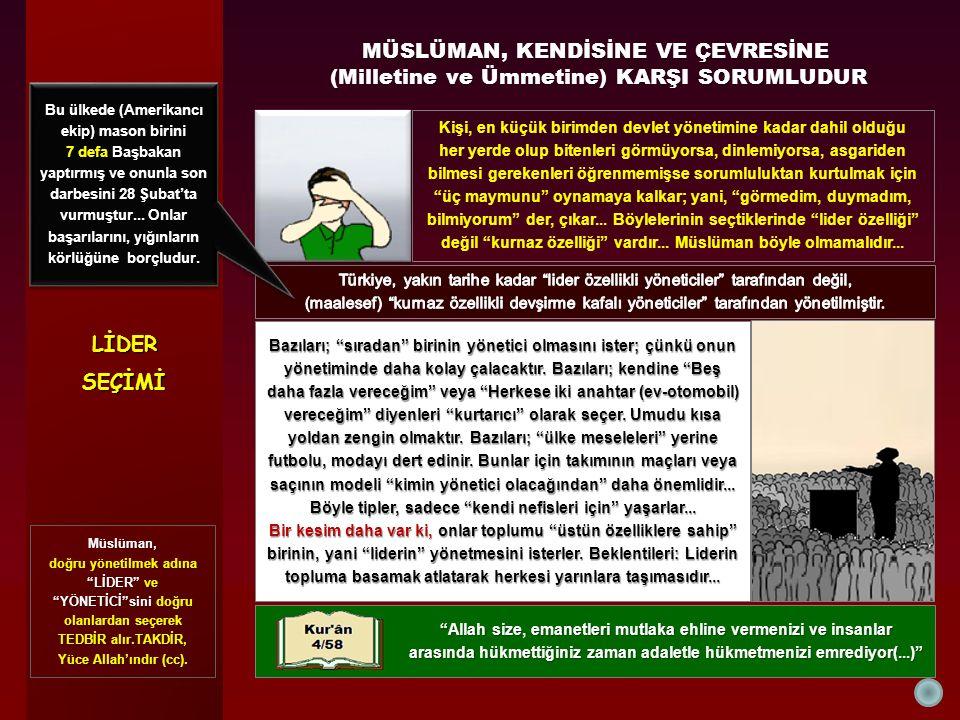 LİDERLİDER DAHA İYİSİ YETİŞİNCEYEKADAR BATILILARIN BELİRLEDİĞİ SINIRLAR İÇİNDE KALANDAN LİDER OLMAZ Türkiye, hesapları bozuyor.