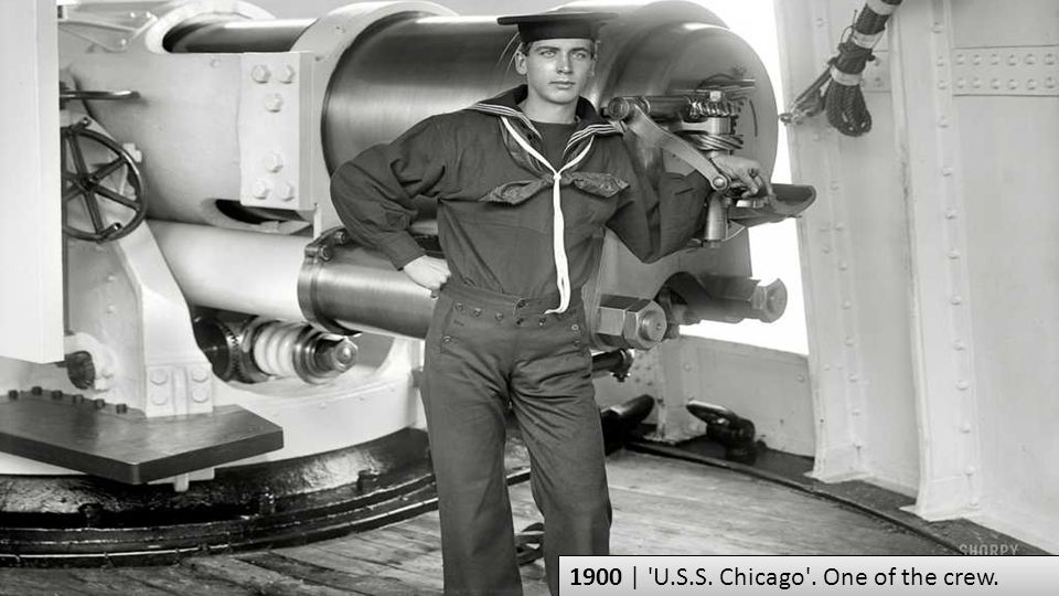 1900 | U.S.S. Chicago . One of the crew.