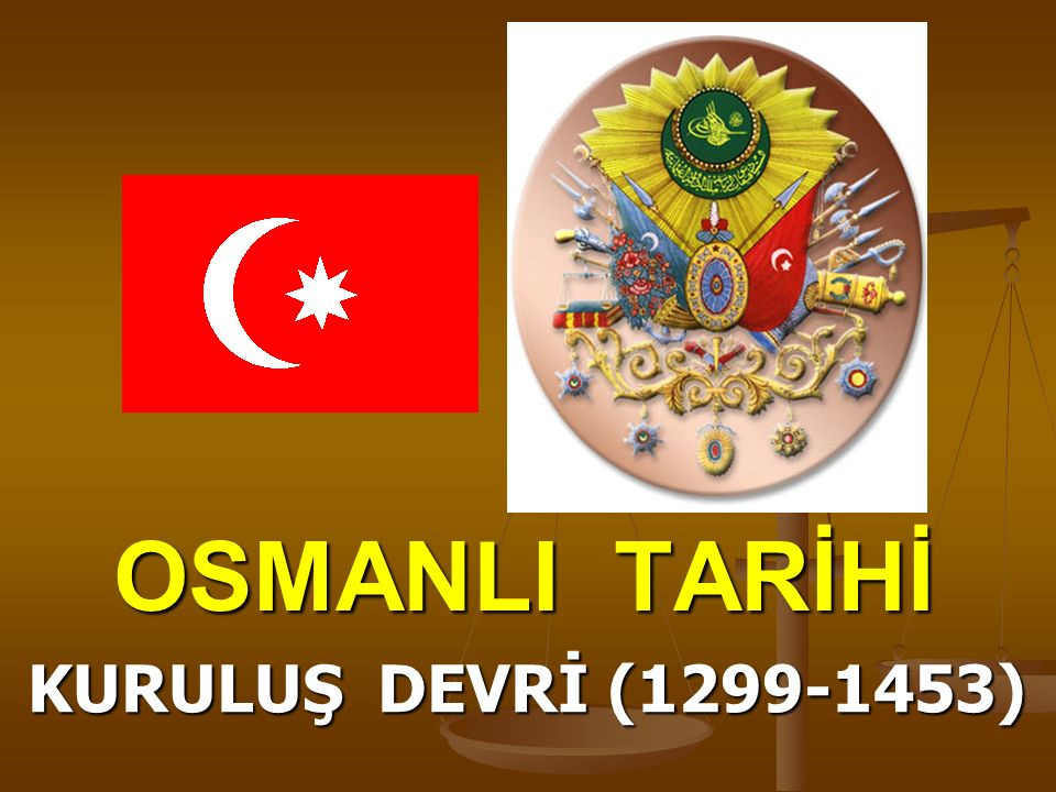 I.Murat (Hüdavendigar-Sultan)  Yapılan çalışmalar sonucu Osmanlı tam devlete dönüşecektir.