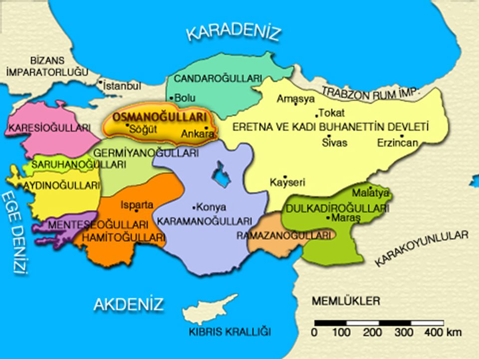 Osmanlı Devleti Kuruluş devrinde neden sık sık başkent değiştirmiştir.