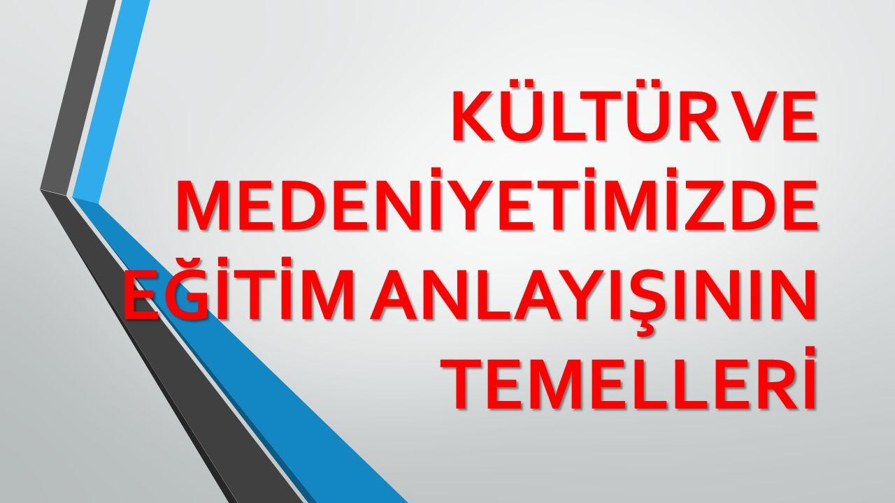 1. Kültür ve medeniyet Bilgisi 1. Kültür ve medeniyet Bilgisi