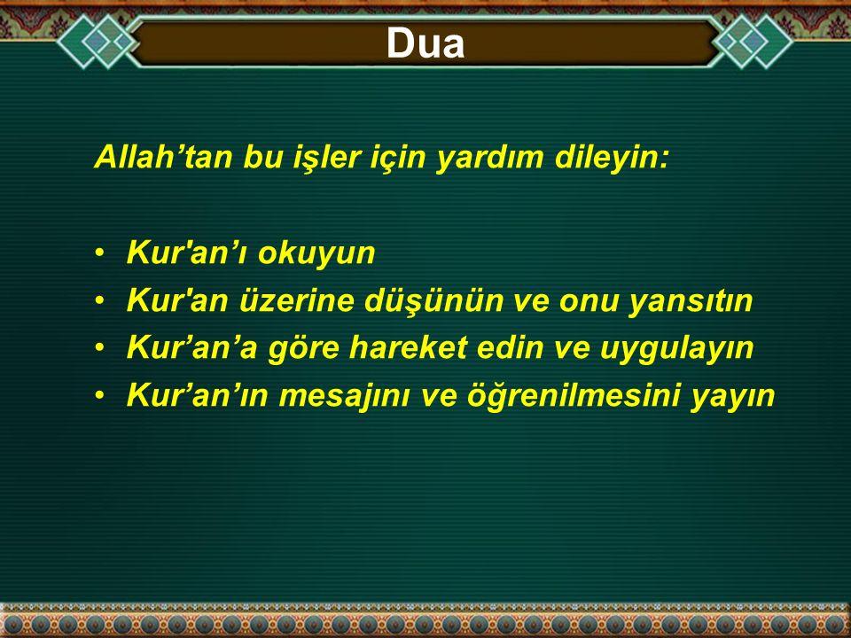Kısa Dersin Amacı 1.Kur'an'ın kolay anlaşılır olduğunu ikna etmek 2.