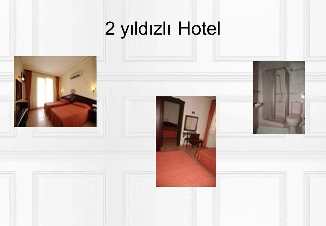 2 yıldızlı Hotel servis
