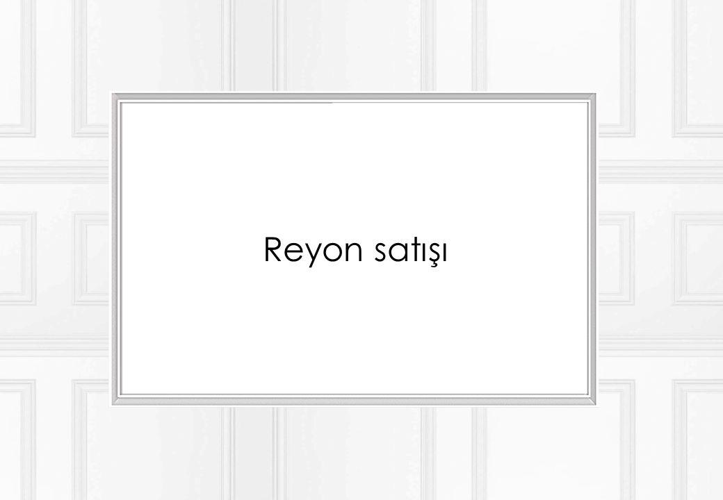 Reyon satışı