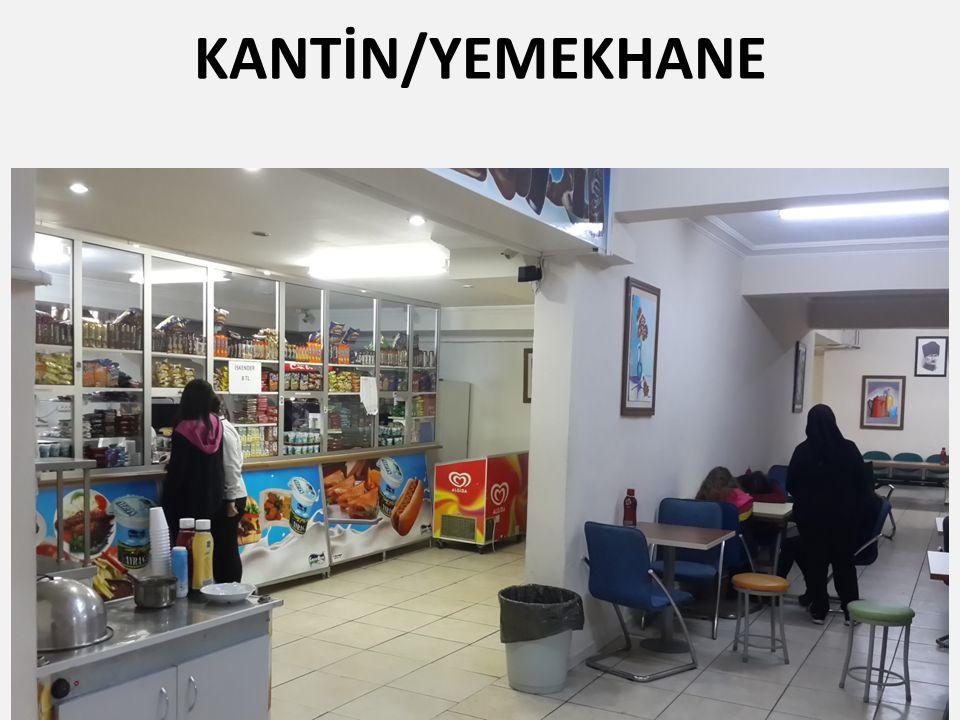 KANTİN/YEMEKHANE
