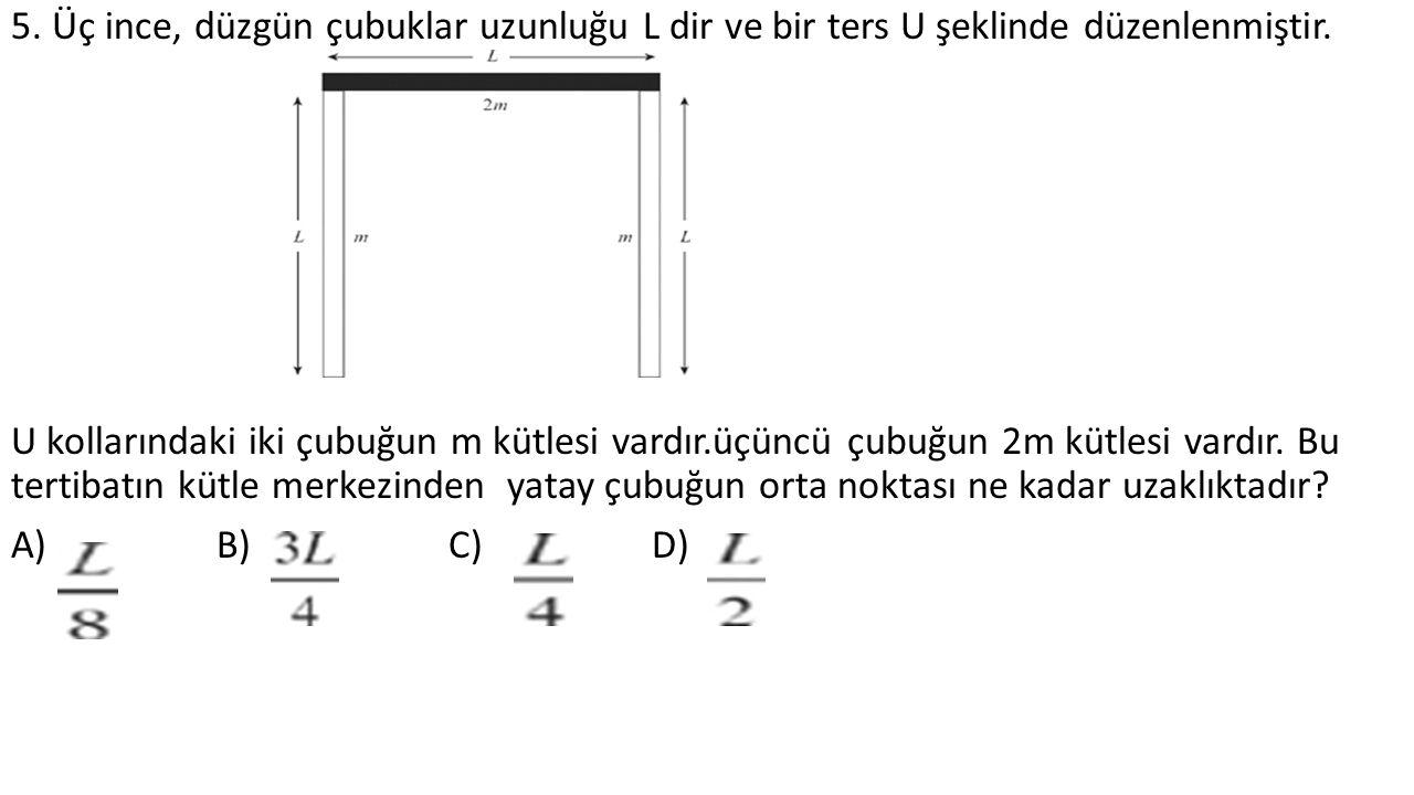 16. Dalganın genliği nedir? A)0.64 m B)0.32 m C)0.16 m D) 0.08 m